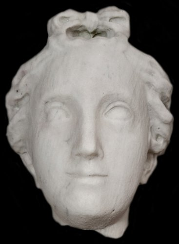 Head of a woman all'antica- End of 17 th century