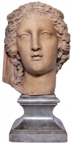 Head of a woman all'antica, by Ludovico Benzoni, circa 1795
