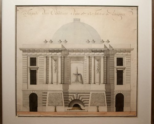 Architecture Drawing, Project For A Fountain 1760-1775