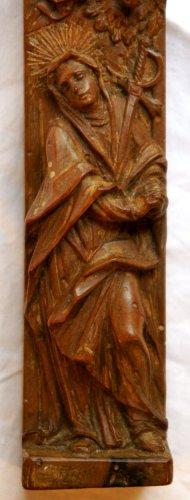 Religious Antiques  - 18th c. reliquary cross from Austria