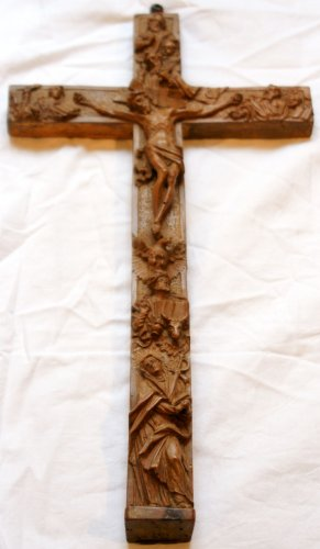 18th century - 18th c. reliquary cross from Austria