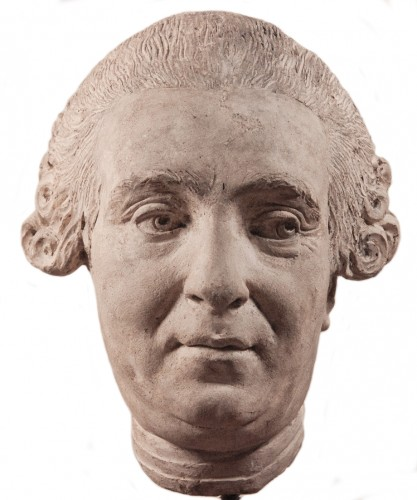 Head of a gentleman, French school circa 1760-1780