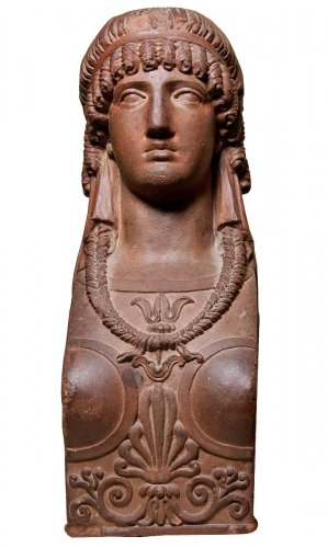 Empire Terracotta Cariatide Head