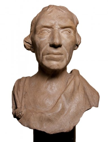 Caricature bust -  early XIXth c.