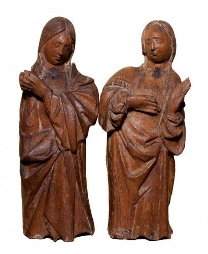 Holy Women at the Tomb, end of XVth c.