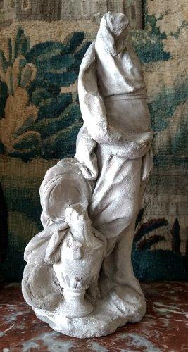 Bozzetto of an allegory in terracotta, problably Hebe, France  circa 1700 -