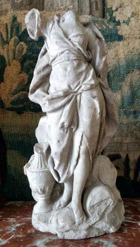 Bozzetto of an allegory in terracotta, problably Hebe, France  circa 1700 - Louis XIV