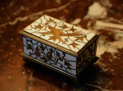 Small Jewelry Box - Duvinage & Maison Alphonse Giroux 1880 - Decorative Objects Style Napoléon III
