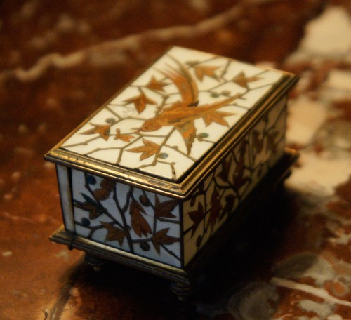Decorative Objects  - Small Jewelry Box - Duvinage & Maison Alphonse Giroux 1880