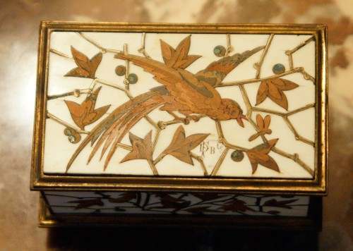 Small Jewelry Box - Duvinage & Maison Alphonse Giroux 1880 -