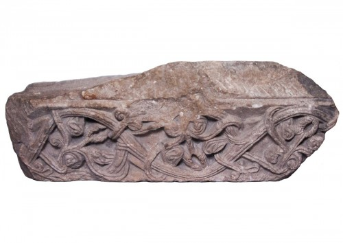 Fragment Of Romanesque Frieze, 12th Century