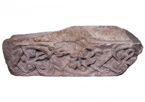 Fragment Of Romanesque Frieze, 12th Century
