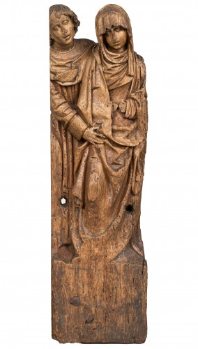 Fragment of altarpiece, Brabant school late 15th century