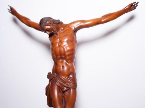Boxwood Christ around 1600 - Religious Antiques Style Renaissance