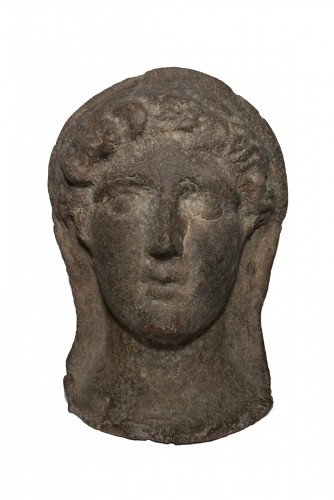 Etruscan Votive Head - 3rd-2nd Century Bc