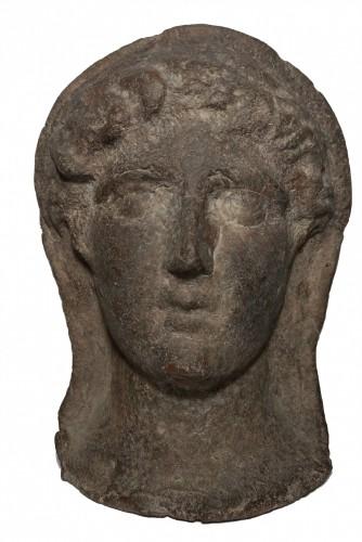 16th century - Etruscan Votive Head - 3rd-2nd Century Bc