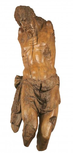 Large Christ in wood - France circa 1550-1600