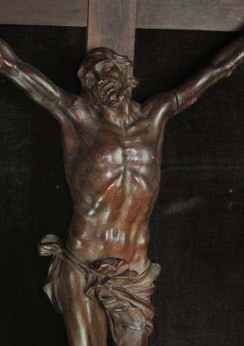 Superb French Regency Period Christ from the Nancy School - Religious Antiques Style French Regence