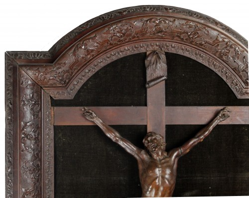 Religious Antiques  -  Superb French Regency Period Christ from the Nancy School