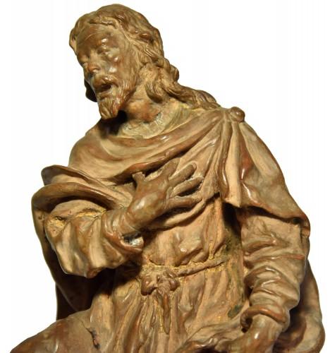Antiquités - Terracotta figure of a shepherd, Italian school of the 18th century