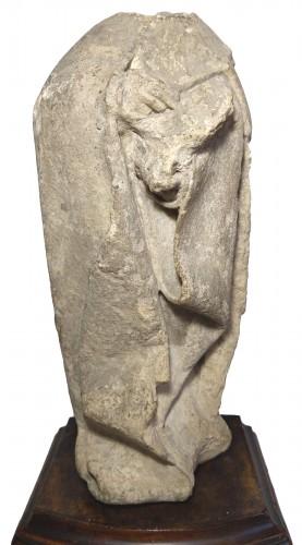 Limestone statuette of a mourner, Burgundy 15th century