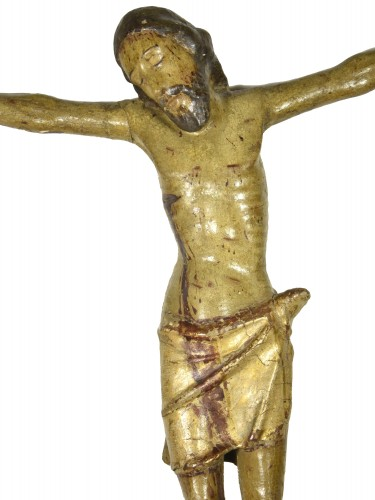 Sculpture  - Christ in carved and polychrome wood, Central Italy, 15th century