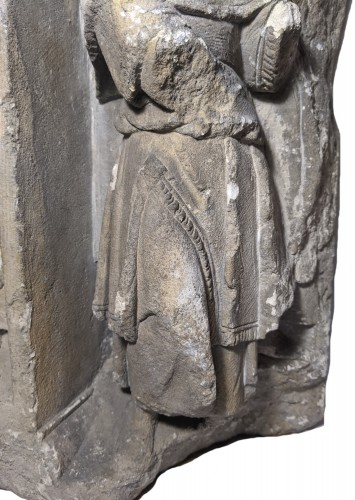 Votive or funerary relief, Picardy around 1510-1530 - Sculpture Style Renaissance