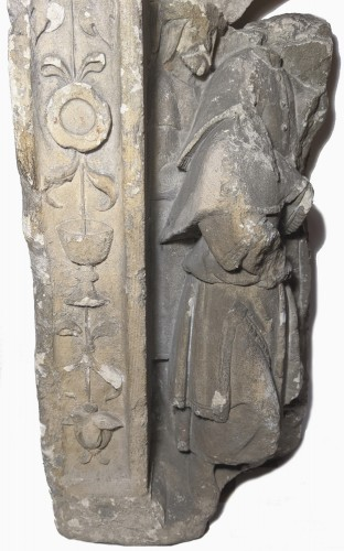 Votive or funerary relief, Picardy around 1510-1530 -