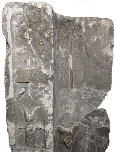 <= 16th century - Votive or funerary relief, Picardy around 1510-1530