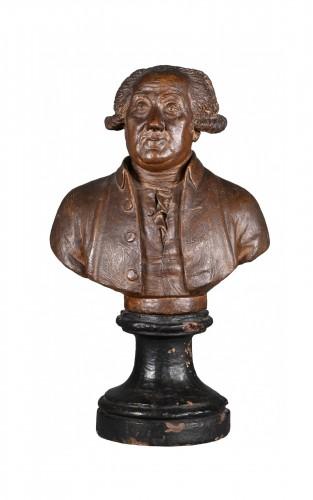 Terracotta Bust Circa 1780 - François Martin De Grenoble (1761-1804)