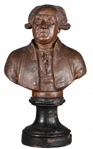 18th century - Terracotta Bust Circa 1780 - François Martin De Grenoble (1761-1804)