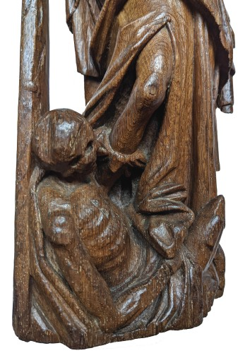 Antiquités - Figure of Saint Michael, 16th century