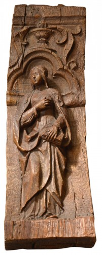Console decorated with a woman - France, circa 1520-1550