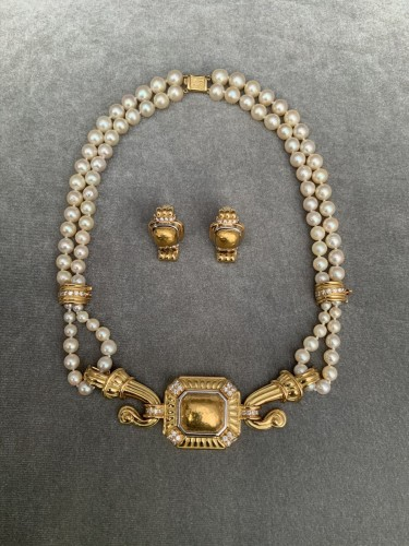 SET by CHAUMET - Antique Jewellery Style