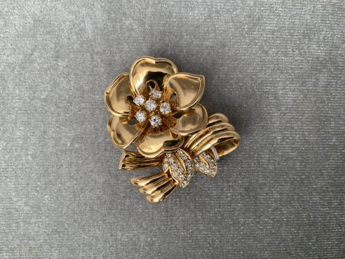 BROOCH by BOUCHERON  - Antique Jewellery Style