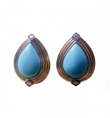 Turquoise Repossi Earrings