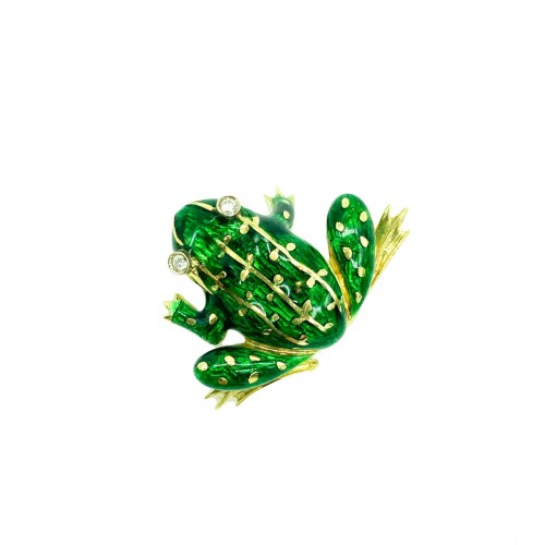 Frog Brooch by Nardi