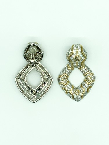 Earclips by REPOSSI - Antique Jewellery Style