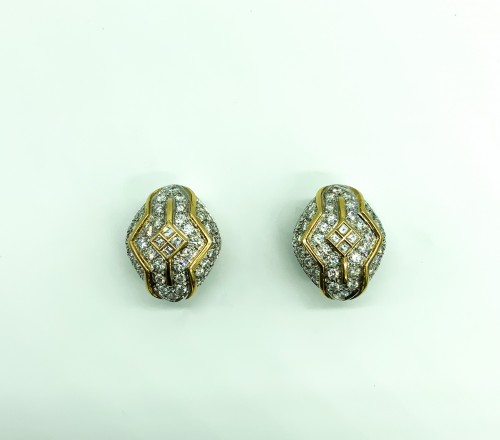 Antique Jewellery  - Earclips by REPOSSI