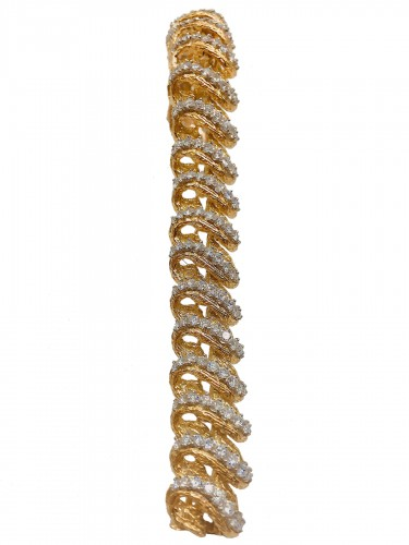 Boucheron - Gold and diamonds bracelet
