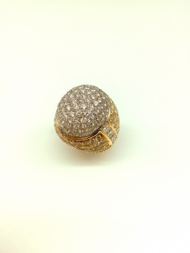 Antique Jewellery  - Gorgeous gold diamonds ring
