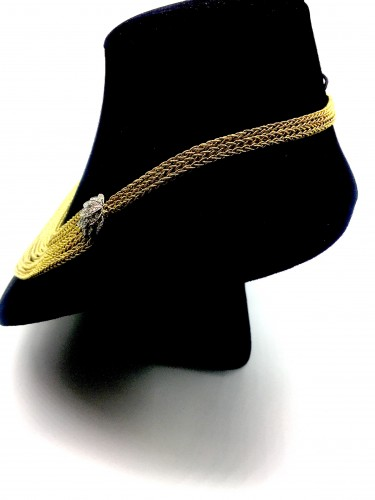 Gold and Diamond Necklace - Antique Jewellery Style