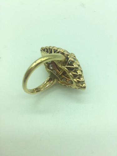 Antique Jewellery  - Van CLEEF  - Gold and Diamonds marquise ring