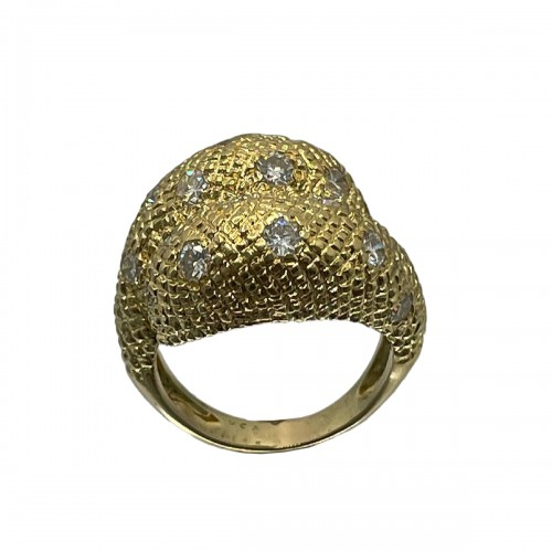Gold and diamonds ring by - Van Cleef & Arpels