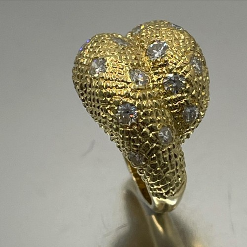 Antique Jewellery  - Gold and diamonds ring by - Van Cleef & Arpels