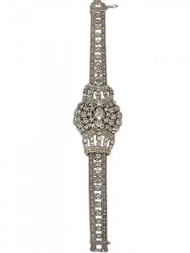 Bracelet en or et diamants circa 1950/1960