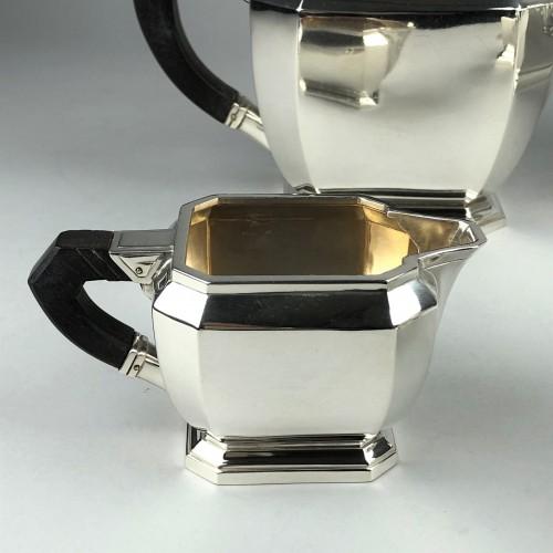 Art Déco -  Hénin à Paris - Art deco silver tea and coffee service