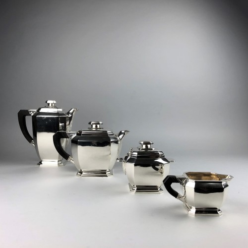Antiquités -  Hénin à Paris - Art deco silver tea and coffee service