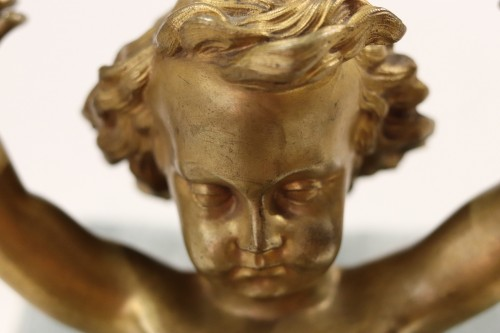 Two  Gilt-bronze Putti, of Louis XIV period - French Regence