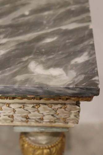 Lacquered console, Italy circa 1780 -
